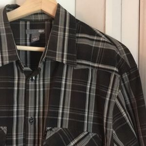 🎉 HP 🎉 Black/grey H&M shirt EUC sz XL